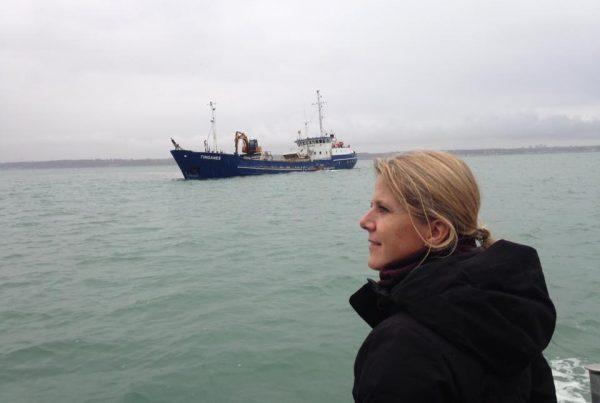 I oktober 2018 var Trine Torp (SF) en tur med FSK på Øresund, hvor vi så en sandsuger på Lappegrunden.
